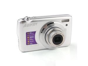 Amkov 800-OE 2.7 Inch LCD 15.0MP Digital Camera Silver