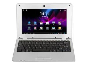 MTL1008 Notebook 1GB DDR3 8GB VIA WM8880 CPU 10 Inch Android 4.2 HD Screen