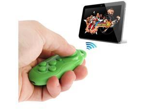 4 in 1 Bluetooth Gamepad Selfie Shutter Remote For iPhone iPad with Retina Display Samsung PC TV Box, MID - Green