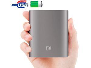 Xiaomi 10400mAh Portable External USB Battery Charger / Power Bank Compatible for Xiaomi / Samsung / LG / iPhone / HTC / Google / Blackberry (Silver)