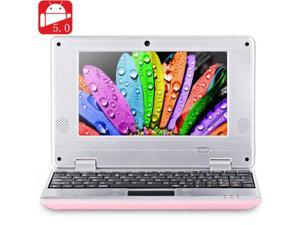 NEW 2016 7 inch 789 PC MID Android 5.0 Notebook WM8880 Dual Core 1.5GHz WVGA Screen 4GB ROM Camera WiFi Ethernet HDMI - Pink