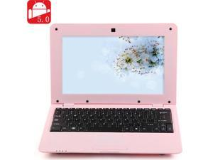 NEW 2016 MTL1008 Notebook 512MB DDR3 4GB VIA WM8880 CPU 10 Inch Android 5.0 HD Screen - Pink