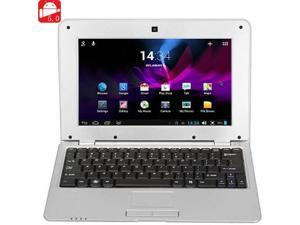 NEW 2016 MTL1008 Notebook 512MB DDR3 4GB VIA WM8880 CPU 10 Inch Android 5.0 HD Screen - Silver