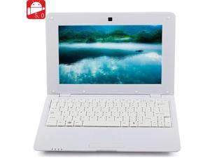 NEW 2016 MTL1008 Notebook 1GB DDR3 8GB VIA WM8880 CPU 10 Inch Android 5.0 HD Screen - White