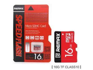 REMAX Class10 Micro SD / TF Memory Card - Red (16GB)