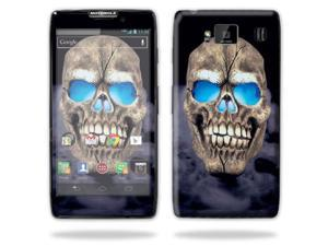 Mightyskins Protective Skin Decal Cover for Motorola Droid Razr Hd & Razr Maxx HD Cell Phone wrap sticker skins Psycho Skull