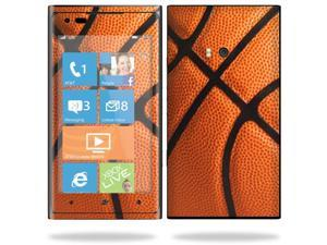 Mightyskins Protective Vinyl Skin Decal Cover for Nokia Lumia 900 4G Windows Phone AT&T Cell Phone wrap sticker skins Basketball