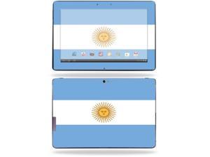 "Mightyskins Protective Skin Decal Cover for Asus Transformer Infinity TF700 Tablet with 10.1"" screen wrap sticker skins Argentina Flag"