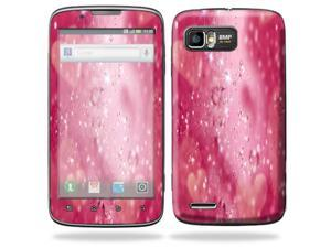 MightySkins Protective Skin Decal Cover for Motorola Atrix 2 II (version 2) Cell Phone Sticker Pink Diamonds