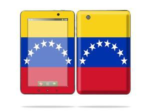 "Mightyskins Protective Skin Decal Cover for Lenovo IdeaPad A1 7"" inch Tablet wrap sticker skins Venezuelan Flag"