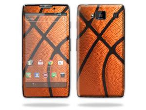 Mightyskins Protective Vinyl Skin Decal Cover for Motorola Droid Razr Maxx Android Smart Cell Phone wrap sticker skins - Basketball