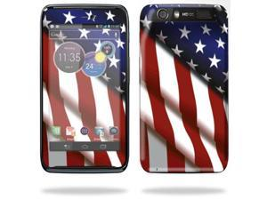Mightyskins Protective Skin Decal Cover for Motorola Atrix HD Cell Phone AT&T wrap sticker skins American Pride