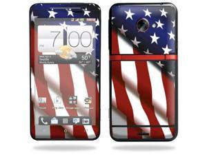 Mightyskins Protective Vinyl Skin Decal Cover for HTC Evo 4G LTE Sprint Cell Phone wrap sticker skins American Pride