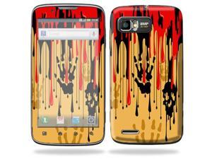 MightySkins Protective Skin Decal Cover for Motorola Atrix 2 II (version 2) Cell Phone Sticker Dripping Blood
