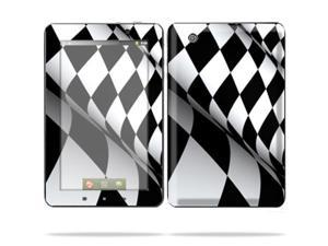 "Mightyskins Protective Skin Decal Cover for Lenovo IdeaPad A1 7"" inch Tablet wrap sticker skins Checkered Flag"