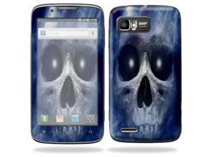 MightySkins Protective Skin Decal Cover for Motorola Atrix 2 II (version 2) Cell Phone Sticker Haunted Skull