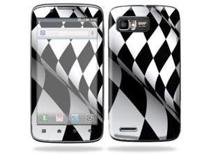 MightySkins Protective Skin Decal Cover for Motorola Atrix 2 II (version 2) Cell Phone Sticker Checkered Flag
