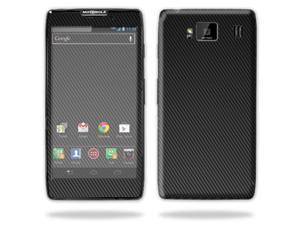 Mightyskins Protective Vinyl Skin Decal Cover for Motorola Droid Razr Maxx Android Smart Cell Phone wrap sticker skins - Carbon Fiber