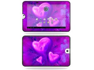 Mightyskins Protective Vinyl Skin Decal Cover for Toshiba Thrive 10.1 Android Tablet wrap sticker skins Purple Heart