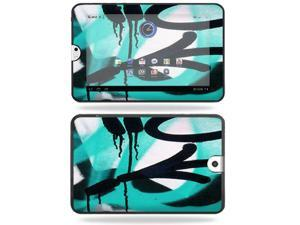 Mightyskins Protective Vinyl Skin Decal Cover for Toshiba Thrive 10.1 Android Tablet wrap sticker skins Graffiti Tagz