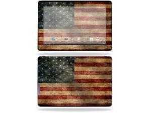 "Mightyskins Protective Skin Decal Cover for Asus Transformer Infinity TF700 Tablet with 10.1"" screen wrap sticker skins Vintage Flag"