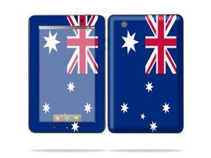 "Mightyskins Protective Skin Decal Cover for Lenovo IdeaPad A1 7"" inch Tablet wrap sticker skins Australian flag"