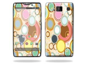Mightyskins Protective Vinyl Skin Decal Cover for Motorola Droid Razr Maxx Android Smart Cell Phone wrap sticker skins - Bubble Gum