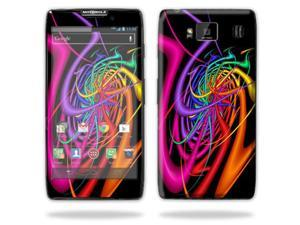 Mightyskins Protective Skin Decal Cover for Motorola Droid Razr Hd & Razr Maxx HD Cell Phone wrap sticker skins Color Invasion