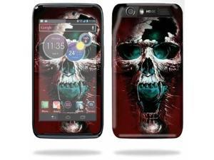 Mightyskins Protective Skin Decal Cover for Motorola Atrix HD Cell Phone AT&T wrap sticker skins Wicked Skull