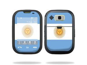 Mightyskins Protective Vinyl Skin Decal Cover for Nokia Lumia 900 4G Windows Phone AT&T Cell Phone wrap sticker skins Argentina Flag