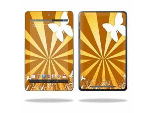 "Mightyskins Protective Skin Decal Cover for Asus Google Nexus 7 Tablet with 7"" screen wrap sticker skins Brown Butterfly"