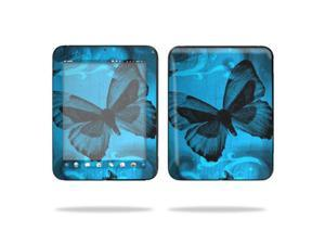 "Mightyskins Protective Vinyl Skin Decal Cover for HP TouchPad 9.7 "" Inch WiFi 16GB 32GB tablet wrap sticker skins Dark Butterfly"