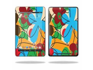 """Mightyskins Protective Skin Decal Cover for Asus Google Nexus 7 Tablet with 7"""" screen wrap sticker skins Funky Flowers"""
