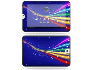 Mightyskins Protective Vinyl Skin Decal Cover for Toshiba Thrive 10.1 Android Tablet wrap sticker skins Rainbow Twist