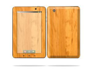 "Mightyskins Protective Skin Decal Cover for Lenovo IdeaPad A1 7"" inch Tablet wrap sticker skins Birch Wood"