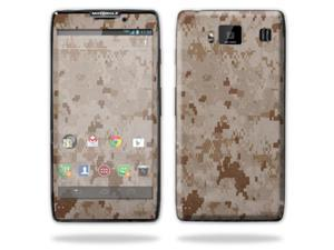 Mightyskins Protective Vinyl Skin Decal Cover for Motorola Droid Razr Maxx Android Smart Cell Phone wrap sticker skins - Desert Camo