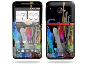 Skin Decal cover for HTC Evo 4G LTE Sprint Sticker sticker Color Splash