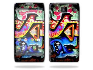 Mightyskins Protective Skin Decal Cover for Motorola Droid Razr Hd & Razr Maxx HD Cell Phone wrap sticker skins Loud Graffiti