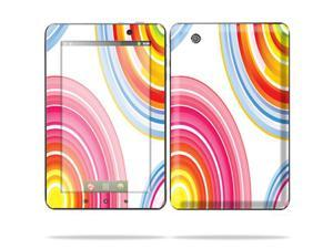 "Mightyskins Protective Skin Decal Cover for Lenovo IdeaPad A1 7"" inch Tablet wrap sticker skins Lollipop Swirls"
