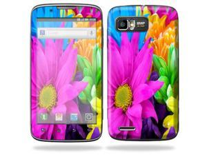 MightySkins Protective Skin Decal Cover for Motorola Atrix 2 II (version 2) Cell Phone Sticker Colorful Flowers