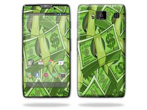 Mightyskins Protective Skin Decal Cover for Motorola Droid Razr Hd & Razr Maxx HD Cell Phone wrap sticker skins Benjamins
