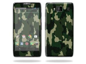 Mightyskins Protective Vinyl Skin Decal Cover for Motorola Droid Razr Maxx Android Smart Cell Phone wrap sticker skins - Green Camo