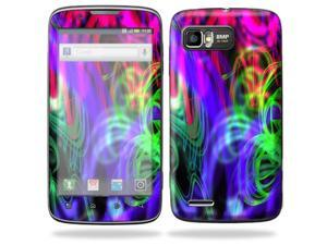 Mightyskins Protective Skin Decal Cover for Motorola Atrix 2 II (version 2) Cell Phone StickerNeon Splatter
