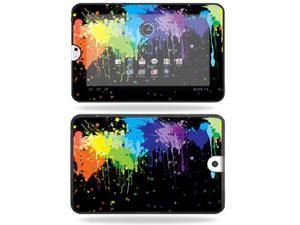Mightyskins Protective Vinyl Skin Decal Cover for Toshiba Thrive 10.1 Android Tablet wrap sticker skins Splatter