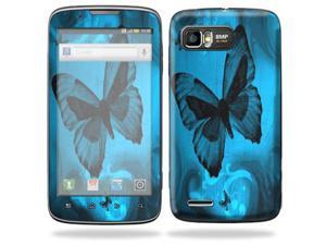 MightySkins Protective Skin Decal Cover for Motorola Atrix 2 II (version 2) Cell Phone Sticker Dark Butterfly