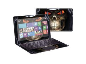 """Mightyskins Protective Skin Decal Cover for Samsung ATIV Smart PC Pro 700T with 11.6"""" screen wrap sticker skins Evil Reaper"""