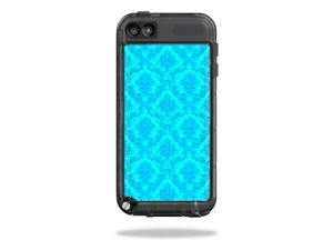Mightyskins Protective Vinyl Skin Decal Cover for LifeProof iPod Touch 5th Gen Case wrap sticker skins Blue Vintage