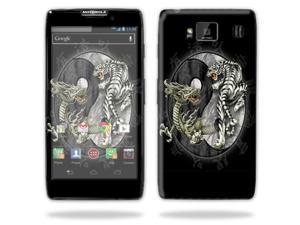 MightySkins Protective Skin Decal Cover for Motorola Droid Razr Hd & Razr Maxx HD Cell Phone Sticker Skins Yin And Yang