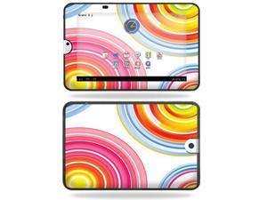 Mightyskins Protective Vinyl Skin Decal Cover for Toshiba Thrive 10.1 Android Tablet wrap sticker skins Lollipop Swirls