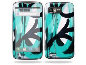 MightySkins Protective Skin Decal Cover for Motorola Atrix 2 II (version 2) Cell Phone Sticker Graffiti Tagz